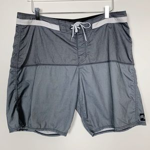 Billabong Gray Board Shorts sz 36 / L